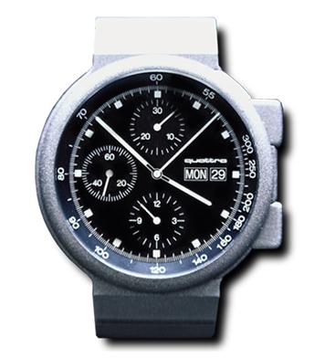 Industriedesign Schade Audi Quadro Uhr